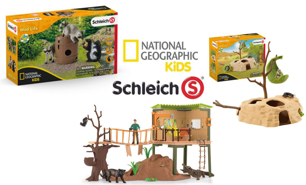 Schleich partners with National Geographic Kids