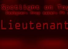 Spotlight On Lieutenant JDUK Banner