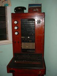 Antique Telephone Exchange