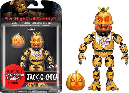 Funko Five Nights At Freddys Jack O Chica GameStop EB
