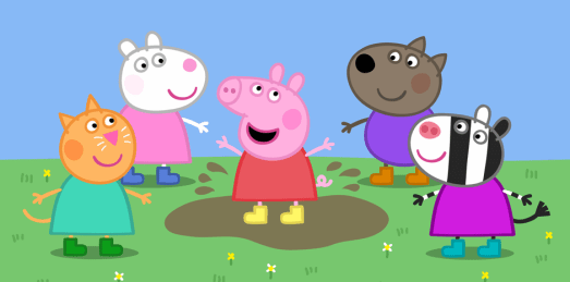 Peppa Pig y sus amigos - Toys On The Go
