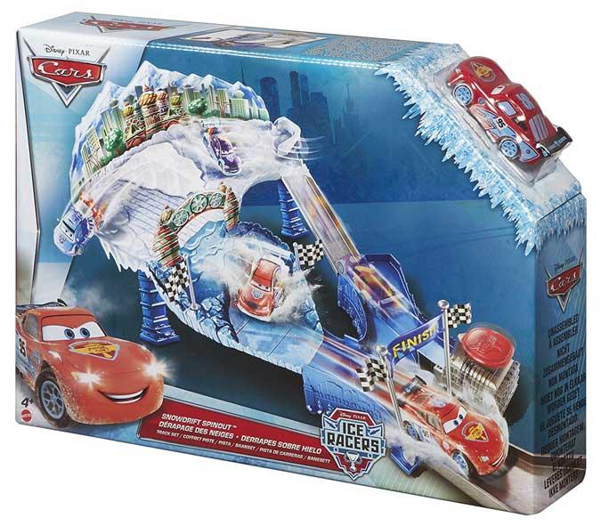 Cars ice racers – Pista de derrapes sobre hielo de Cars