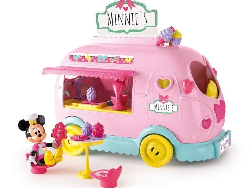 Caravana de dulces y caramelos de Minnie