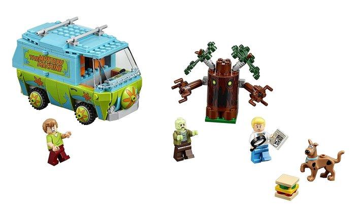 Scooby doo Lego - La maquina del misterio piezas
