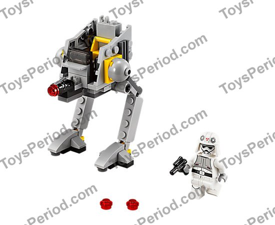 LEGO 75130 AT-DP Set Parts Inventory and Instructions