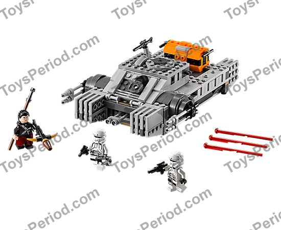 LEGO 75152 Imperial Assault Hovertank Set Parts Inventory