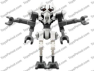 LEGO 75199 General Grievous Combat Speeder Set Parts