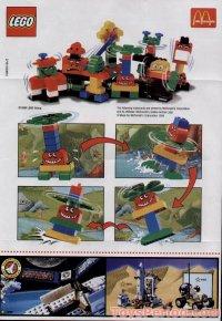 LEGO 2719 McDonald's Promotional Set, Heli-Monster Set ...