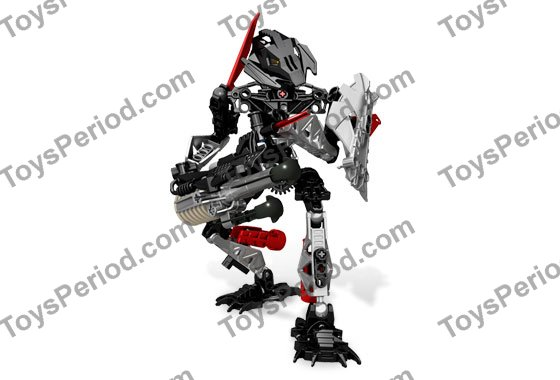 LEGO 8690 Toa Onua Set Parts Inventory and Instructions