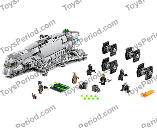 LEGO 75106 Imperial Assault Carrier Set Parts Inventory