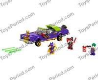 LEGO 70906 The Joker Notorious Lowrider Set Parts ...