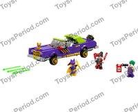 LEGO 70906 The Joker Notorious Lowrider Set Parts ...