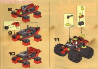LEGO 6862 Secret Space Voyager Set Parts Inventory and ...
