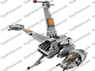 LEGO 75050 B-wing Set Parts Inventory and Instructions