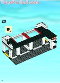 LEGO 7744 Police Headquarters Set Parts Inventory and ...