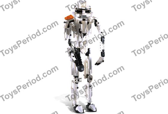 LEGO 8008 Stormtrooper Set Parts Inventory and