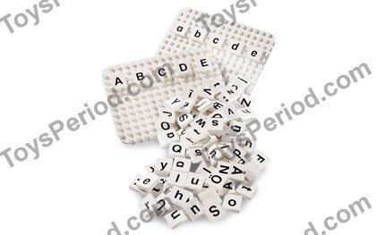 LEGO 9530 Letters Set Set Parts Inventory and Instructions