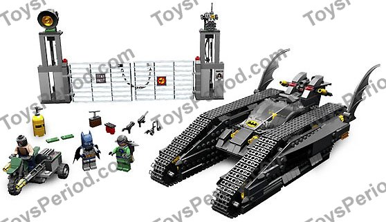 LEGO 7787 The Bat-Tank: The Riddler and Bane's Hideout Set