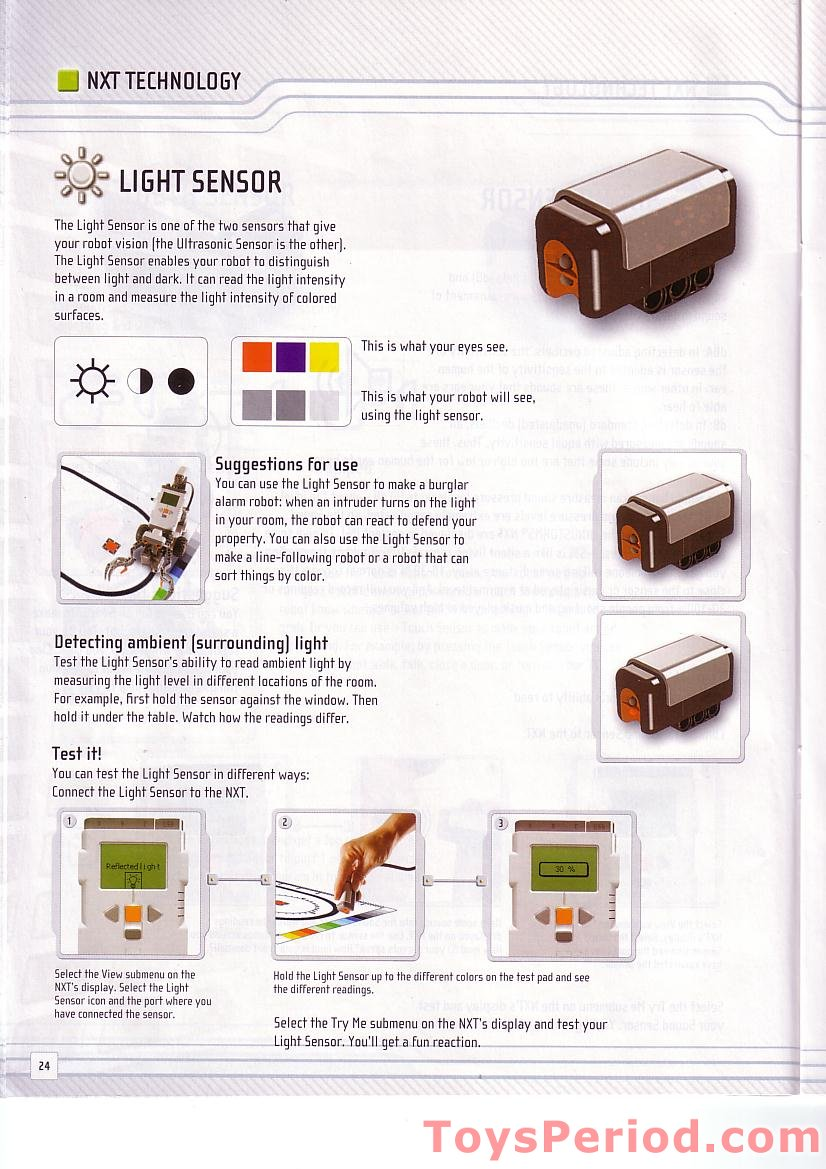 √ Lego Mindstorms Nxt 2 0 Building Instructions Pdf