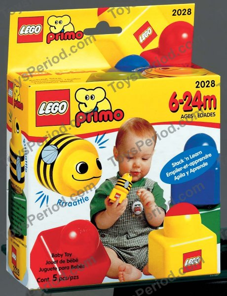 LEGO 2028 Try-Me-Set with Bee Set Parts Inventory and Instructions - LEGO Reference Guide