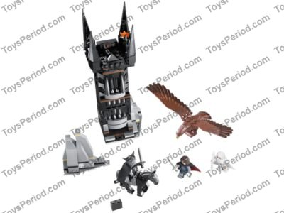 LEGO 79007 Battle at the Black Gate Set Parts Inventory