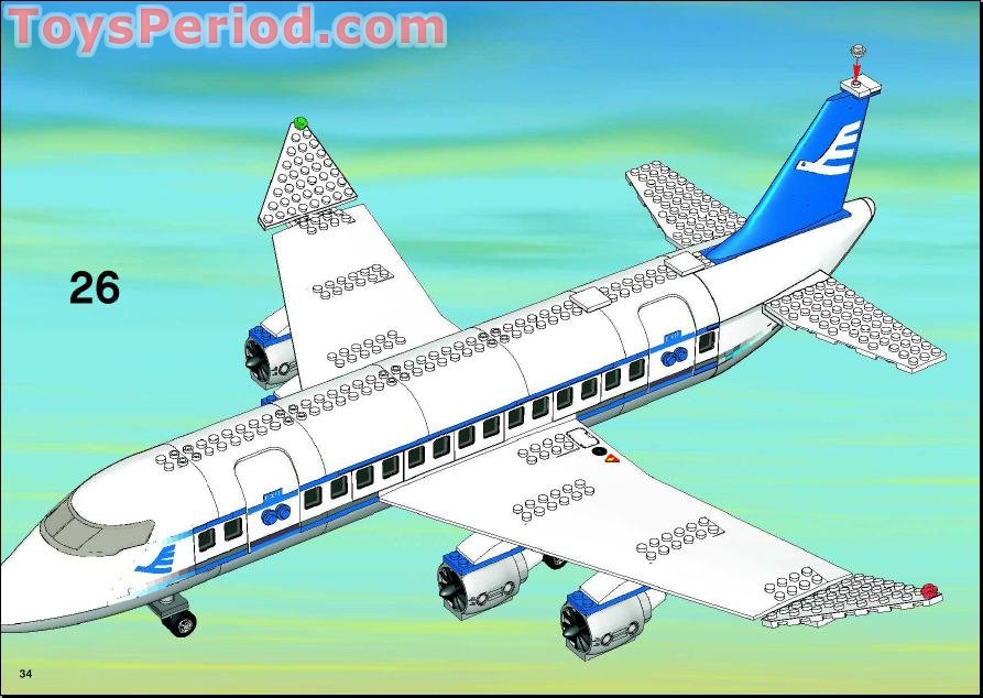 Red Logo Plane And Blue