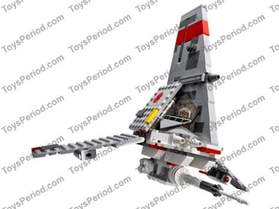 LEGO 75081 T-16 Skyhopper Set Parts Inventory and