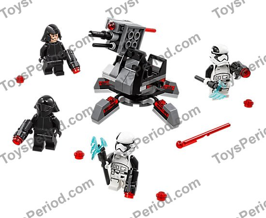 LEGO 75197 First Order Specialists Battle Pack Set Parts