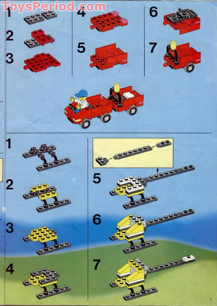 LEGO 6396 International Jetport Set Parts Inventory and Instructions  LEGO Reference Guide