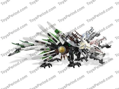 LEGO 9450 Epic Dragon Battle Set Parts Inventory and