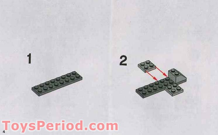LEGO 7667 Imperial Dropship Set Parts Inventory and