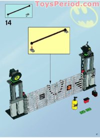LEGO 7787 The Bat-Tank: The Riddler and Bane's Hideout Set ...