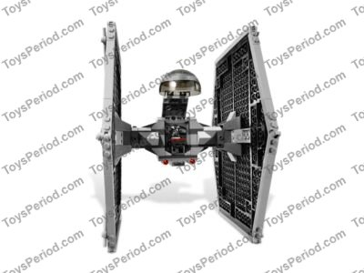 LEGO 9492 TIE Fighter Set Parts Inventory and Instructions