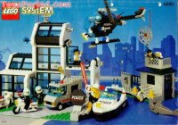 LEGO 6598 Metro PD Station Set Parts Inventory and ...
