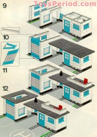 LEGO 6384 Police Station Set Parts Inventory and ...