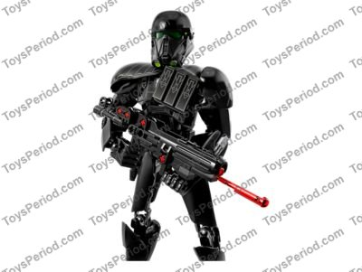 LEGO 75121 Imperial Death Trooper Set Parts Inventory and