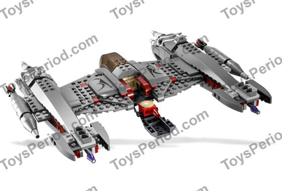 LEGO 7673 Magna Guard Starfighter Set Parts Inventory and