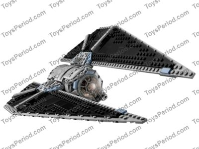 LEGO 75154 TIE Striker Set Parts Inventory and