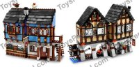 LEGO 10193 Medieval Market Village Set Parts Inventory and ...