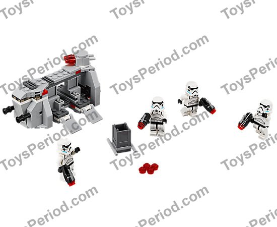 LEGO 75078 Imperial Troop Transport Set Parts Inventory