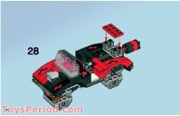 LEGO 7886 The Batcycle: Harley Quinn's Hammer Truck Set ...