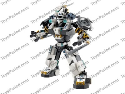 LEGO 70737 Titan Mech Battle Set Parts Inventory and