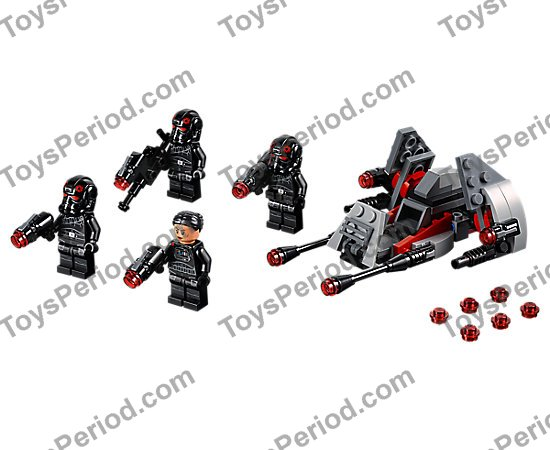 LEGO 75226 Inferno Squad Battle Pack Set Parts Inventory