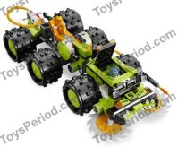 LEGO 8708 Cave Crusher Set Parts Inventory and ...