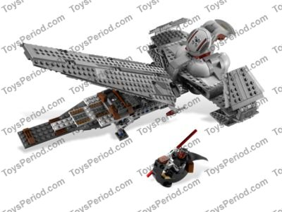 LEGO 7961 Darth Maul's Sith Infiltrator Set Parts