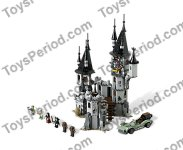 LEGO 9468 Vampyre Castle Set Parts Inventory and