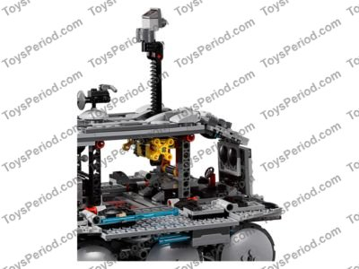 LEGO 75151 Clone Turbo Tank Set Parts Inventory and