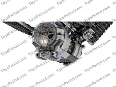 LEGO 75154 TIE Striker Set Parts Inventory and