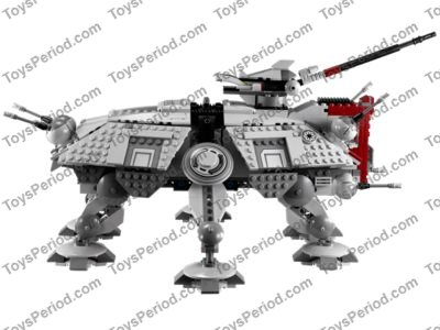 LEGO 75019 AT-TE Set Parts Inventory and Instructions