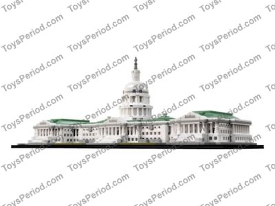LEGO 21030 United States Capitol Building Set Parts